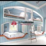 yeni moda yatak odası modeli