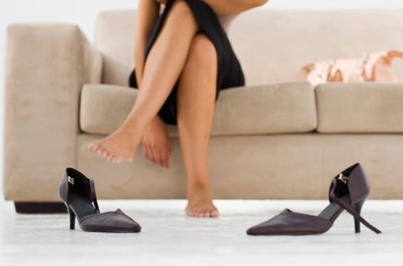 kadınlarda ayak kokusu