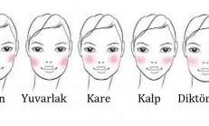 Yüz şeklinize göre allık nasıl sürülür ?