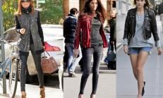 2016 Bayan Deri Ceket Modelleri