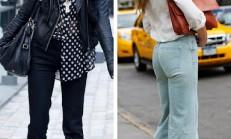 Yeni Sezon İspanyol Paça Pantolon Modelleri