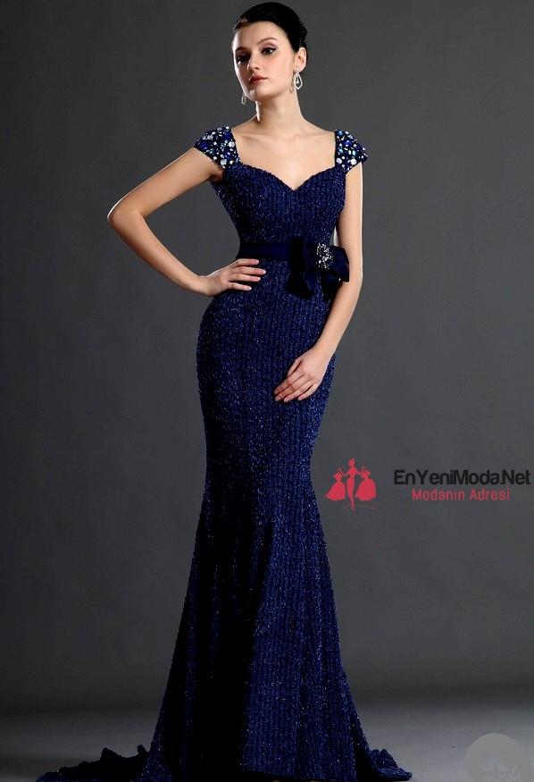 mavi 2016 Abiye Elbise modelleri