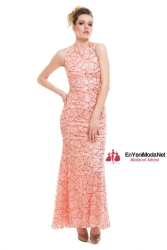 pembe 2016 Kına Gecesi Elbise Modelleri