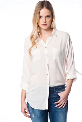 vual kadın gömleği