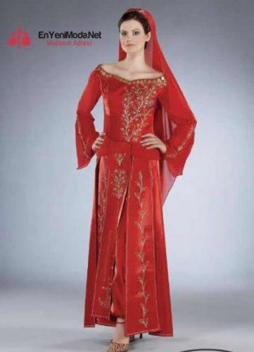yeni 2016 Kına Elbiseleri