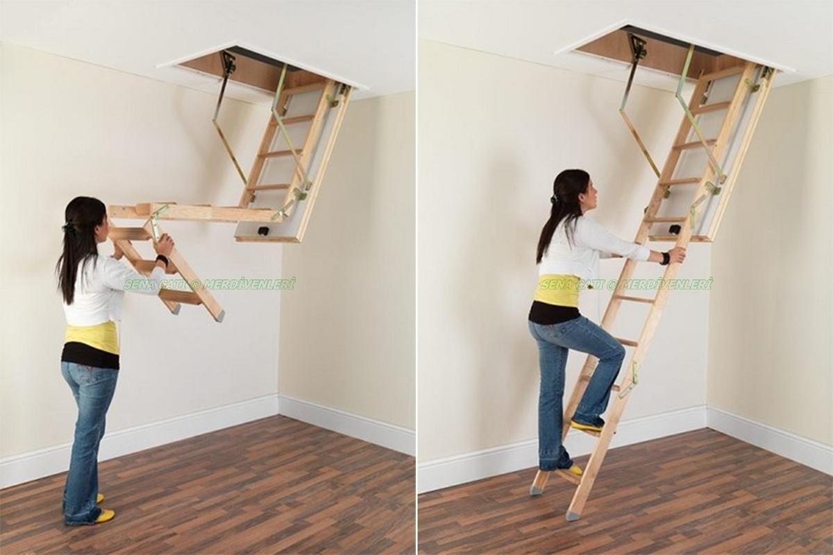 çatı merdivenleri
